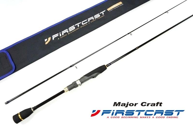 спиннинг major craft firstcast fcs602ul 183см 0.8-7гр (extra fast)